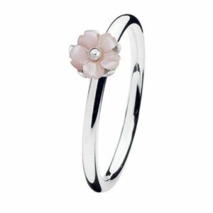 SPINNING JEWELRY Pink Flower